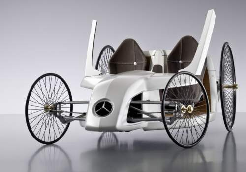 Mercedes F-CELL Roadster: концепт багги
