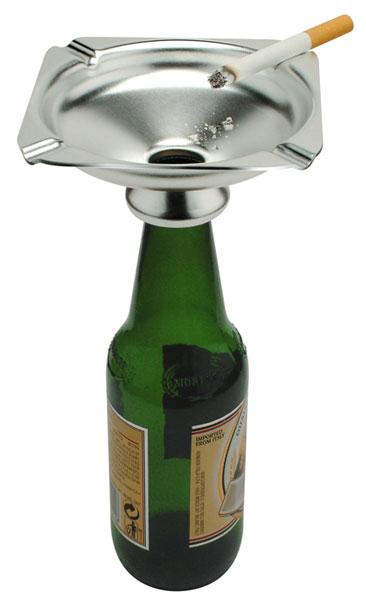 Пепельница из пластиковой бутылки
